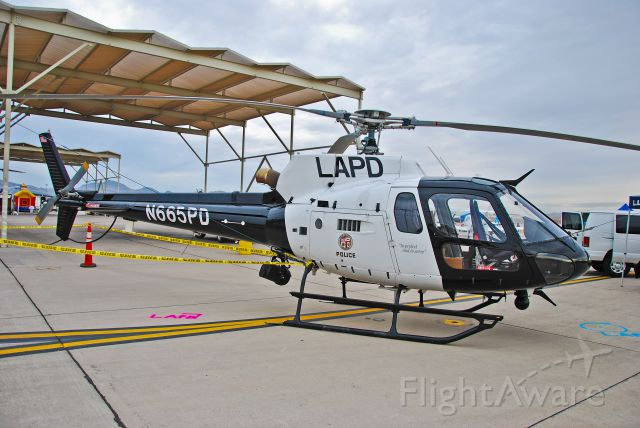 N665PD — - 2007 EUROCOPTER AS 350 B2 (4319) LAPD AIR SUPPORT DIVISION LOS ANGELES, CA -   Aviation Nation 2011 Nellis Afb Airport (Las Vegas, NV) KLSV / LSV  November 13, 2011 TDelCoro