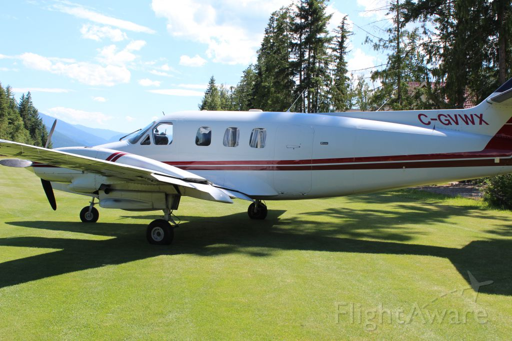 Rockwell Commander 710 (C-GVWX) - Mable Lake Golf Course 2013.