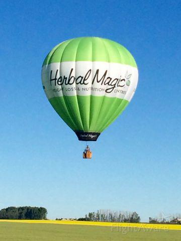 Unknown/Generic Balloon (C-GHER) - CGHER Balloon Works Firefly 8B-15 Hot Air Balloon.