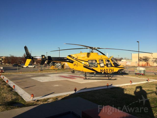 N407H — - Taken on 12/16/2015 at the heliport at Denton regional hospital in Denton Texas
