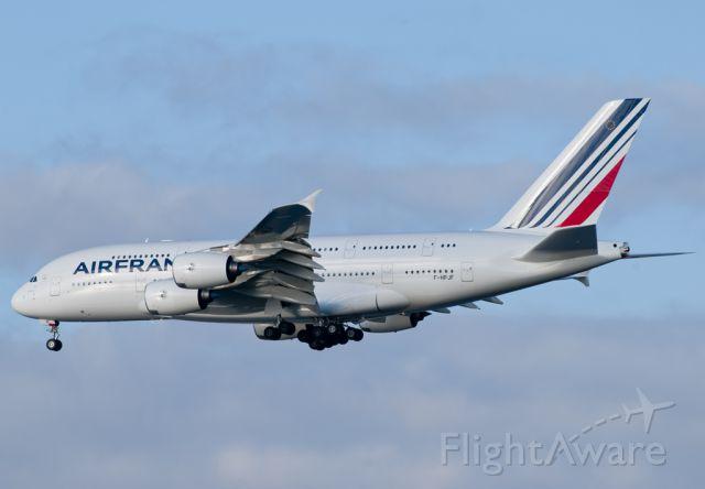 Airbus A380-800 (F-HPJF) - AFR 06 LFPG-KJFK landing on 31L