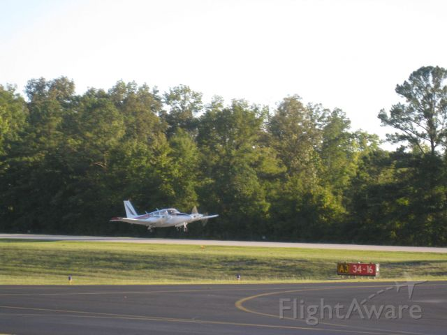 Piper PA-30 Twin Comanche (N7945Y) - Takeoff from Shelby County Airport, September 2010