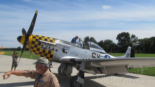 — — - P-51 Mustang Military Air Museum  Virginia Beach, VA