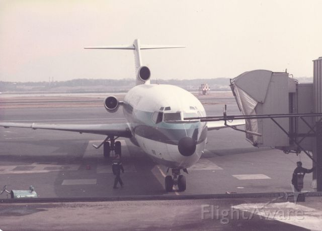Boeing 727-100 — - Eastern Airlines Boeing 727 approaching gate at KDCA, circa 1968-70