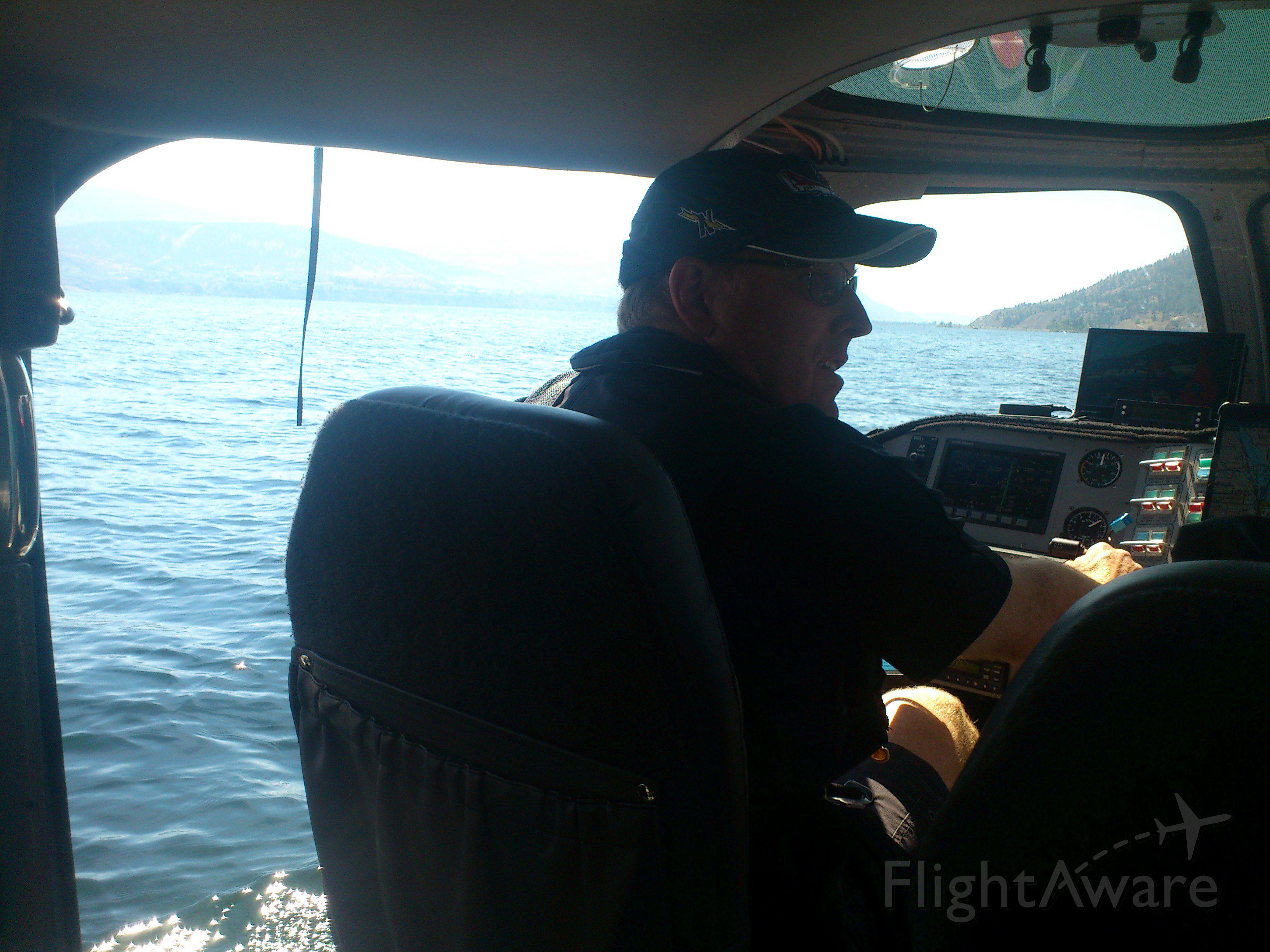 REPUBLIC Seabee (N64PN) - Water-taxi on Okanagan Lake. Penticton Airport, Canada CYYF Aug 2013. Republic R-34 Seabee