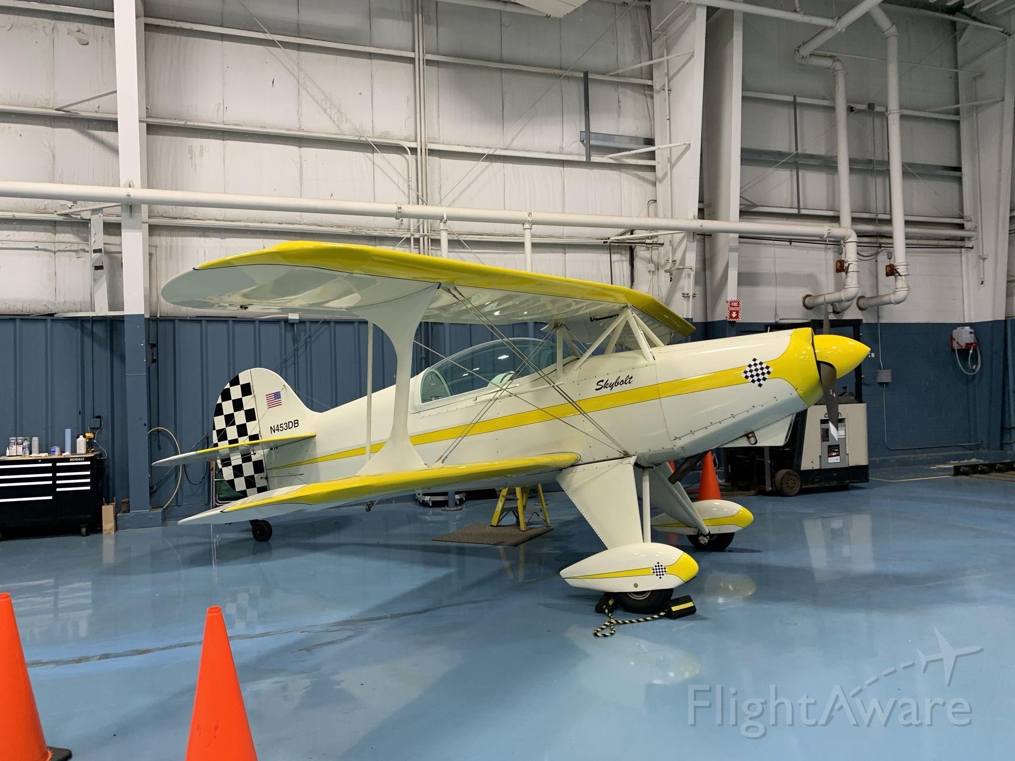 N453DB — - 2012 Skybolt