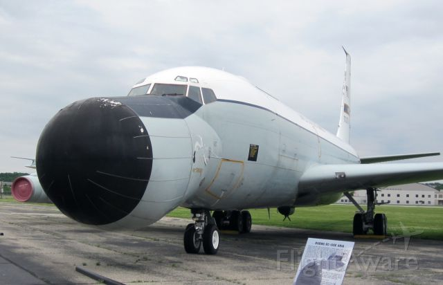 — — - EC-135E, located at National Museum of the United States Air Force