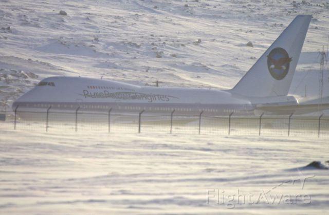BOEING 747SP (PWC743) - It was -50 Wind Chill in Iqaluit, Nunavut, Canada