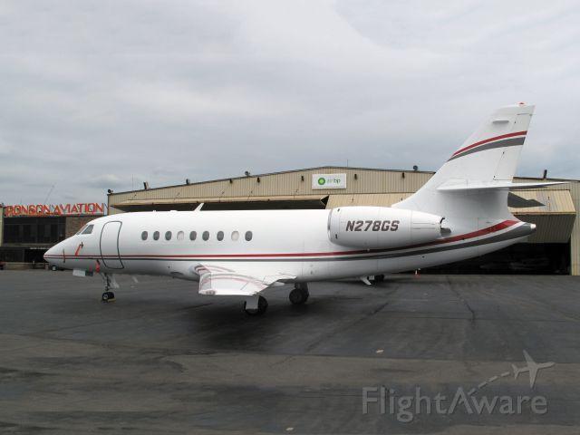 Dassault Falcon 2000 (N278GS)