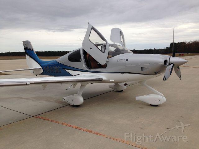 Cirrus SR-22 (N890MG) - new plane