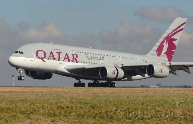 Airbus A380-800 (A7-APD) - 22/02/2015br /Landing 26G