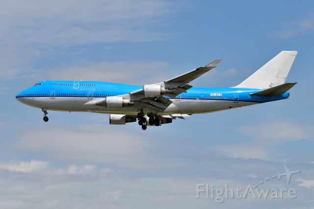 PH-BFS — - KLM FLT 747. Ferrying AMS-ORD(CUSTOMS-CREW REST) arriving 28-C on 05-25-20. Ferried out next day to MHV for storage and scrapping