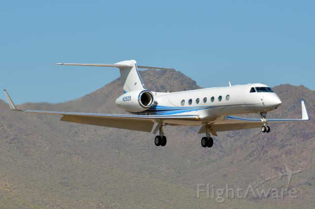Gulfstream Aerospace Gulfstream V (N2929) - Arriving from PIT.