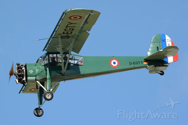 FIESELER Storch (D-EGTY) - OTT19, Morane-Saulnier MS-506L Criquet