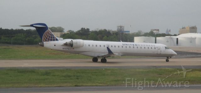 Canadair Regional Jet CRJ-700 (N157GJ) - United Express flight 6012 about to depart to Washington D.C., MD