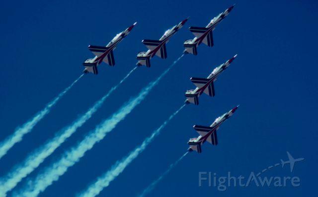 — — - Thunderbirds MAY 1979 Brown field San Diego California