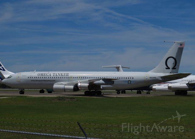 Boeing 707-300 (N624RH) - Omega Air Refueling 707-300 4/8/17