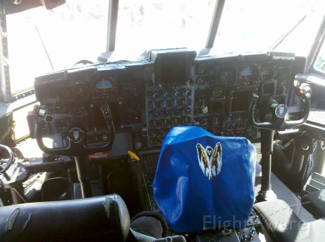 Lockheed C-130 Hercules — - Cockpit of an AC-130 at Andrews Air Force Base (KADW) during the Joint Services Open House 2012.