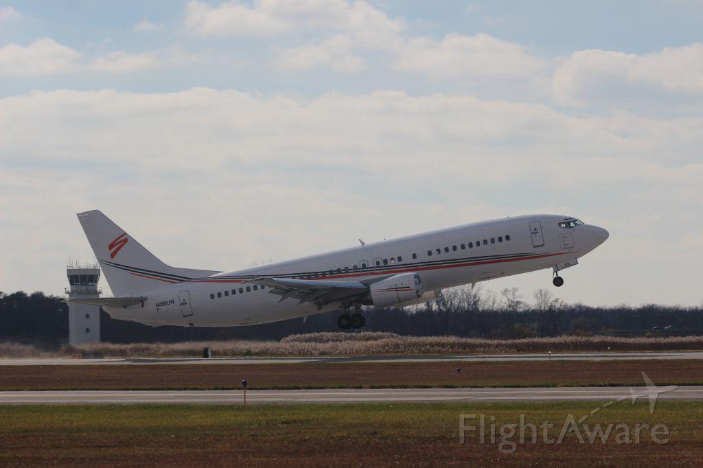 Boeing 737-700 (N458UW) - Watching takeoff from Runway 30.