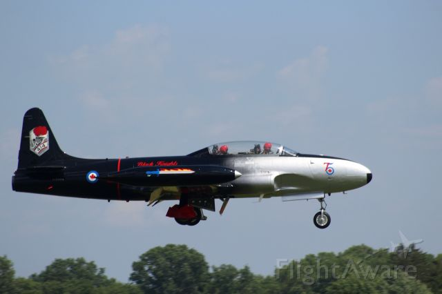 Lockheed T-33 Shooting Star — - A cool paint job on this T-33.
