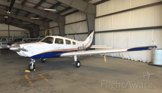 Piper Cherokee (N27AU) - Piper Archer PA-28-181