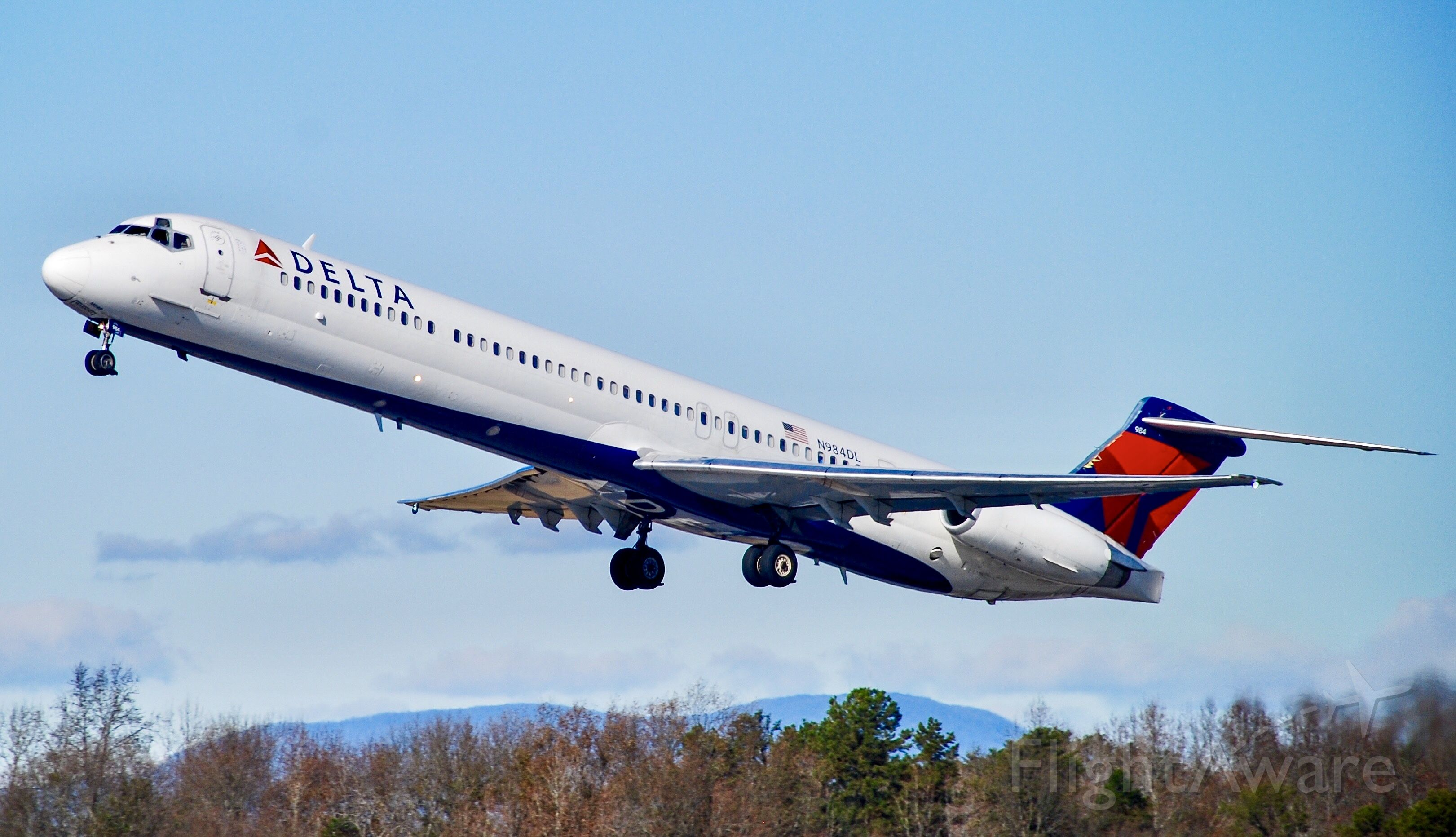 McDonnell Douglas MD-88 (N984DL) - Farewell to the MD-88!  What an amazing aircraft!