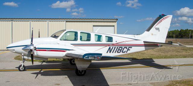 Beechcraft Baron (58) (N118CF)