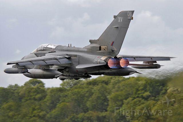SUW410 — - RAF Tornado GR4 in a hurry at RIAT.