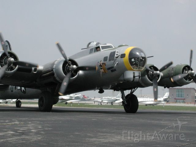 Boeing B-17 Flying Fortress (N390TH) - Restored Boeing B-17G, Liberty Belle, during a visit to a href=http://www.aviationky.org/The Aviation Museum of Kentucky/a