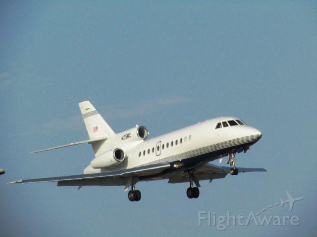 Dassault Falcon 900 (N25MX) - Landing RWY 20R