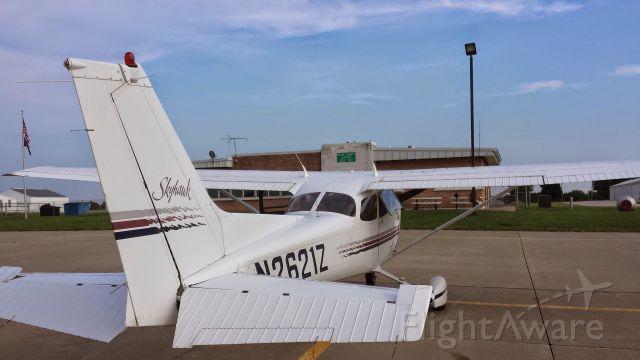 Cessna Skyhawk (N2621Z) - Flight from K34 to K81 for BBQ.