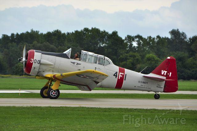 Cessna Super Skymaster (N224X) - Commemorative Air Force North American SNJ-4 N224X in Ann Arbor
