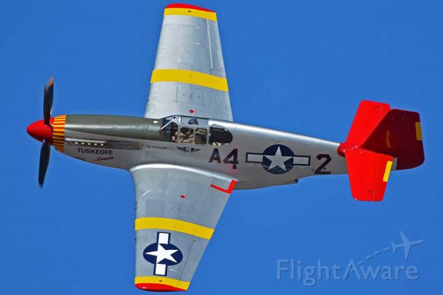 North American P-51 Mustang (N61429) - Commemorative Air Force North American P-51C Mustang NL61429 By Request at the Wings Out West Airshow at Prescott, Arizona on October 5, 2019.