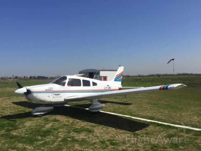 Piper Cherokee (LV-OMI) - Landed in La Plata flying club