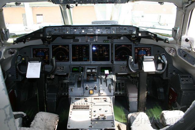 N708AT — - Flight deck of Air Tran Boeing 717, taken at KCAK, Sept. 2008