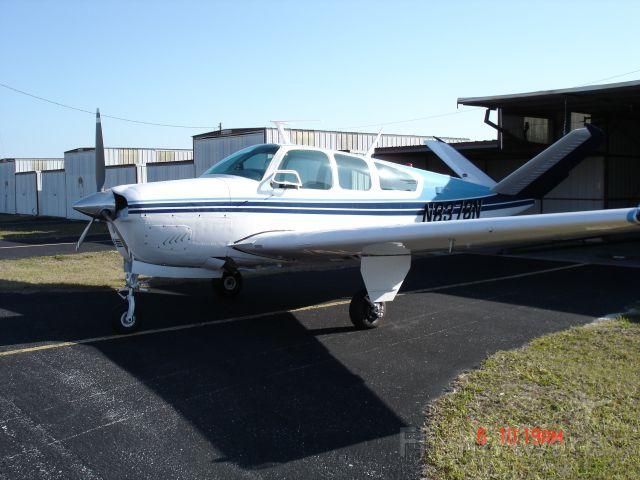 Beechcraft 35 Bonanza (N8378N) - Brought my new Beech home to bartow.