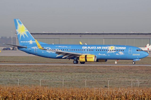 """Boeing 737-800 (D-AHFZ) - """"Glücksbring Air"""" cs"""