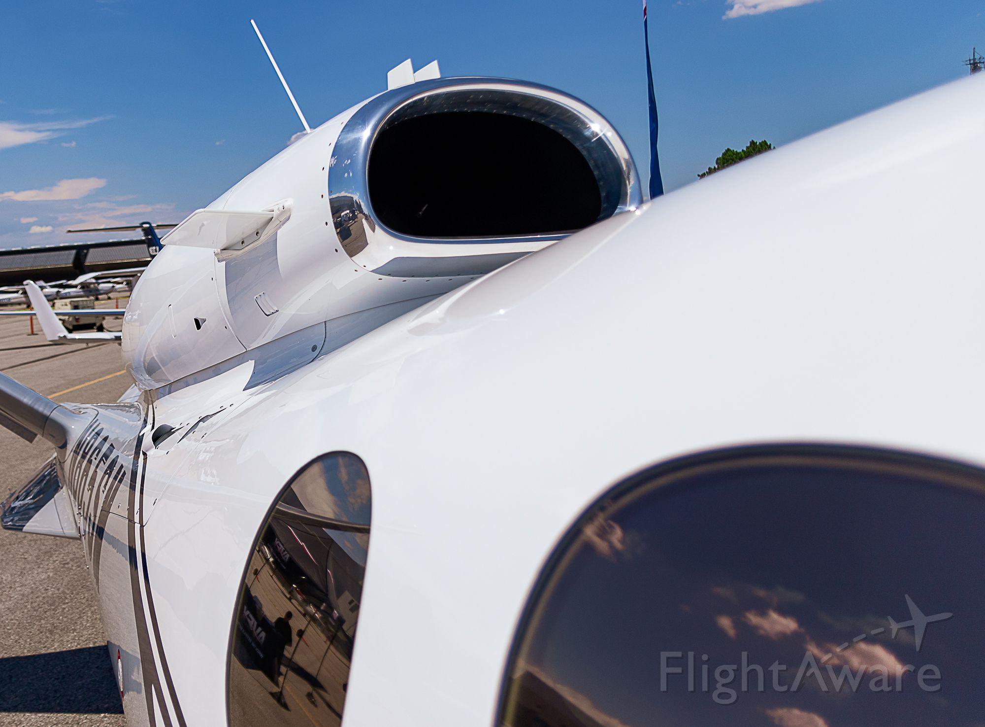 Cirrus Vision SF50 (N865SM) - US Aircraft Expo @ KAPA 7/13/18