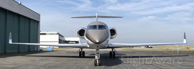 Gulfstream Aerospace Gulfstream V (C-FTEL) - Finally home...