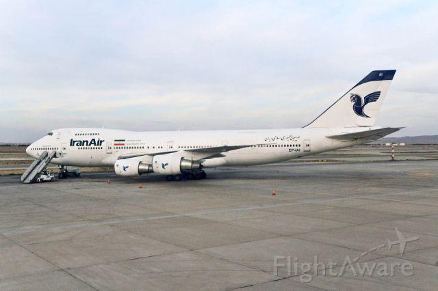 Boeing 747-200 (EP-IAI)
