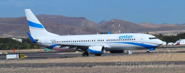 Boeing 737-700 (SP-ENX) - SP-ENX Enter Air Boeing 737-8Q8 LPA/GCFV Spotting