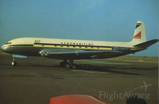 Unknown/Generic Undesignated (F-BGSB) - scanned from postcard<br />UAT<br />dehavilland comet 1A