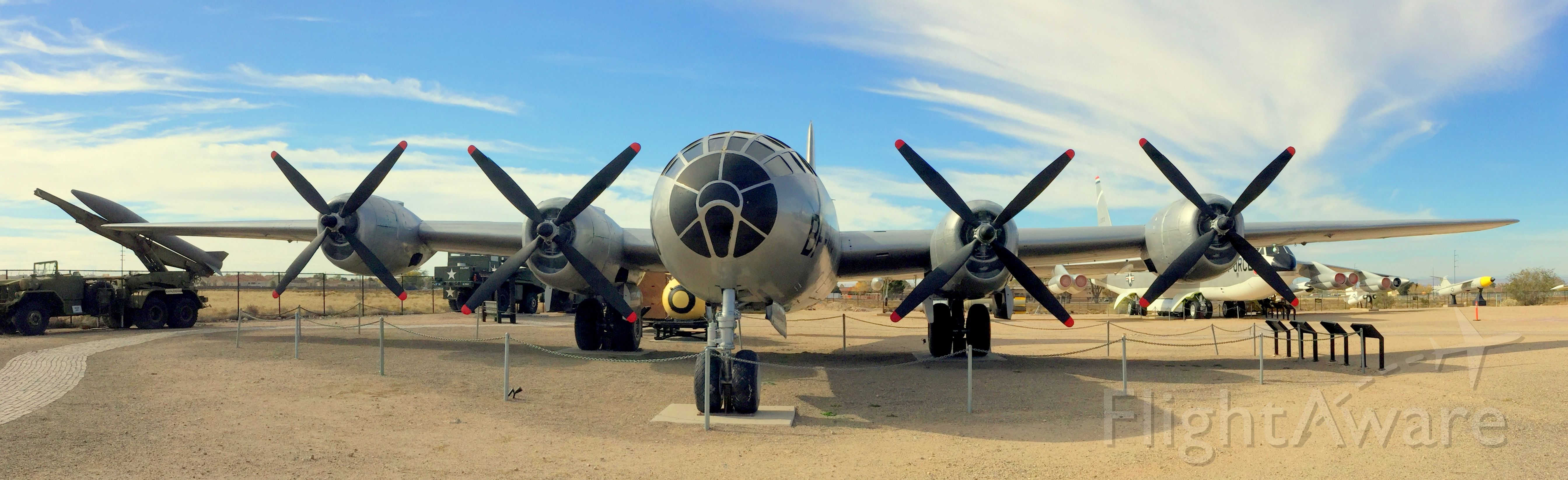 Boeing B-29 Superfortress — - WWII B-29 on display at the Nuclear Science and Technology Museum in Albuquerque.