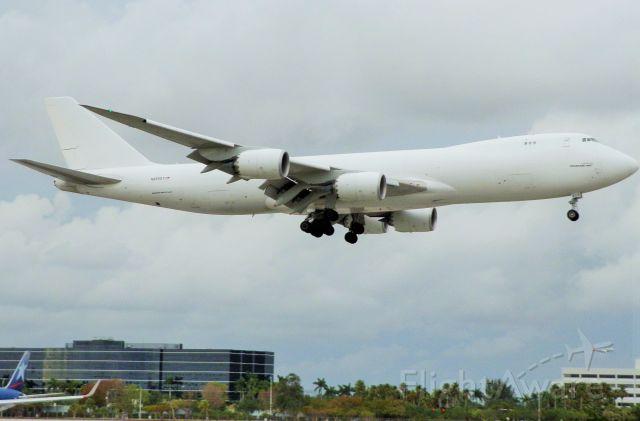 BOEING 747-8 (N859GT) - Atlas Air B747-8 Freighter!