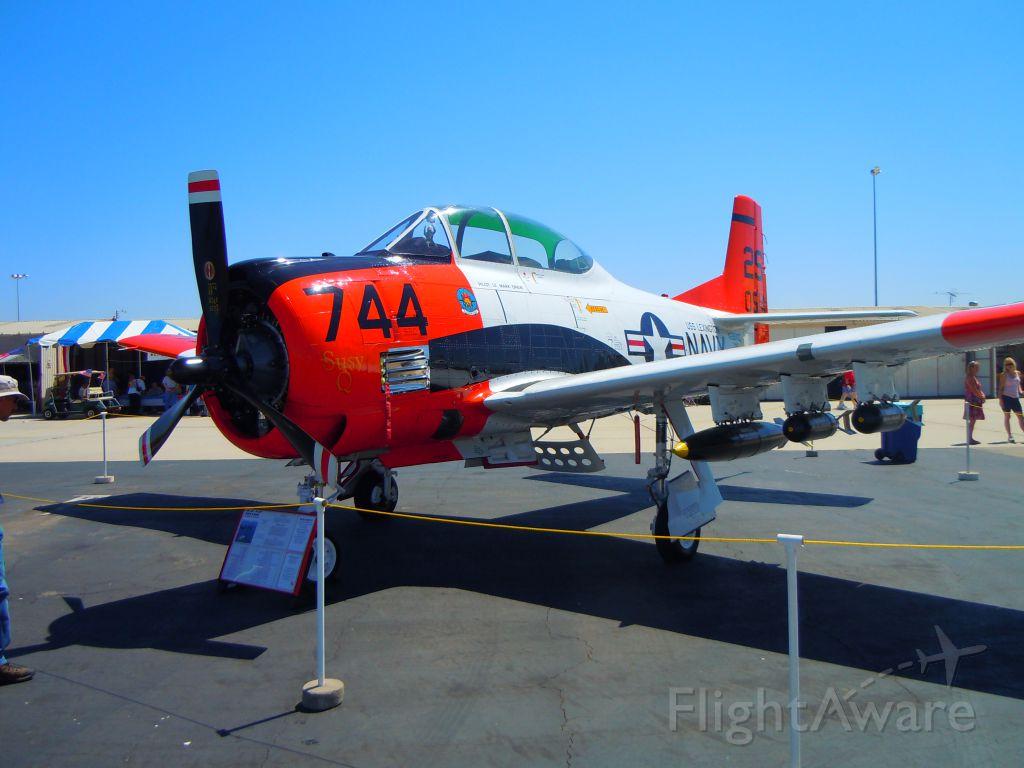 North American Trojan — - At Camarillo airport airshow 8/21/10