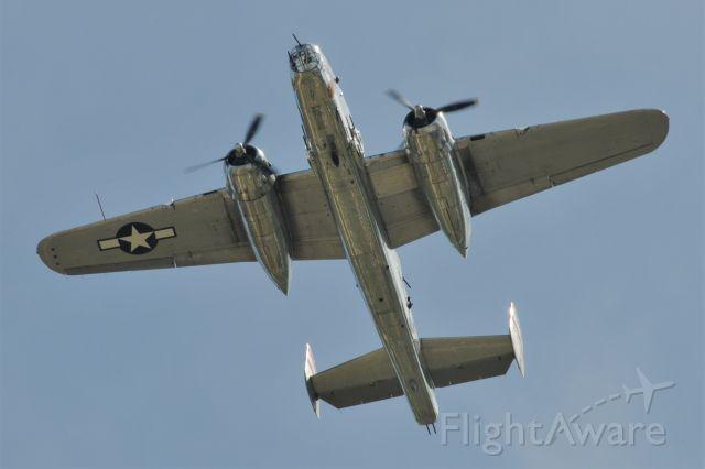 North American TB-25 Mitchell (43-0734)
