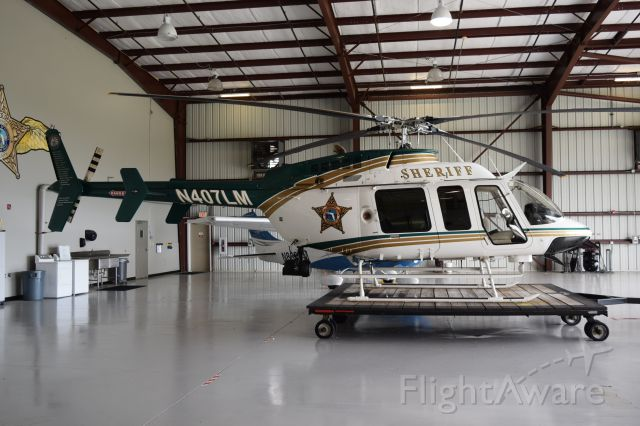 Bell 407 (N407LM) - Dedicated to the Fallen Officers Orange County Sheriffs Office. S/N 53767