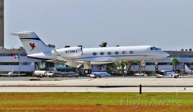Gulfstream Aerospace Gulfstream IV (N721MJ)