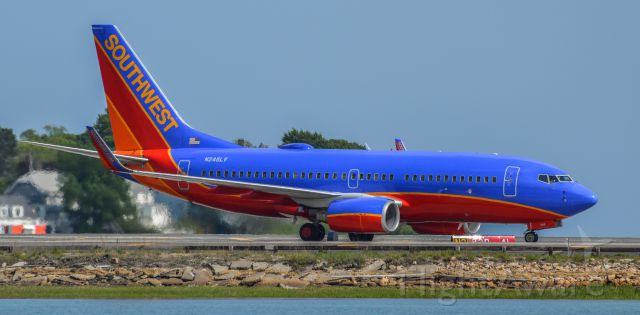 Boeing 737-700 (N246LV) - Shot with a Nikon D3200 w/ Nikkor 70-300mm<br />Best viewed in Full Size