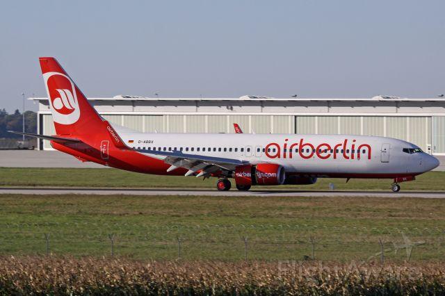 Boeing 737-800 (D-ABBX)